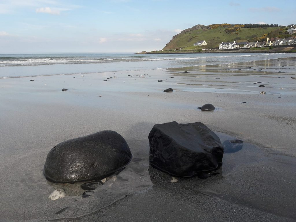 Antrim coast scenery
