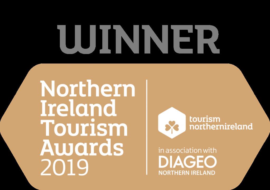 Winner Northern Ireland Tourism Awards