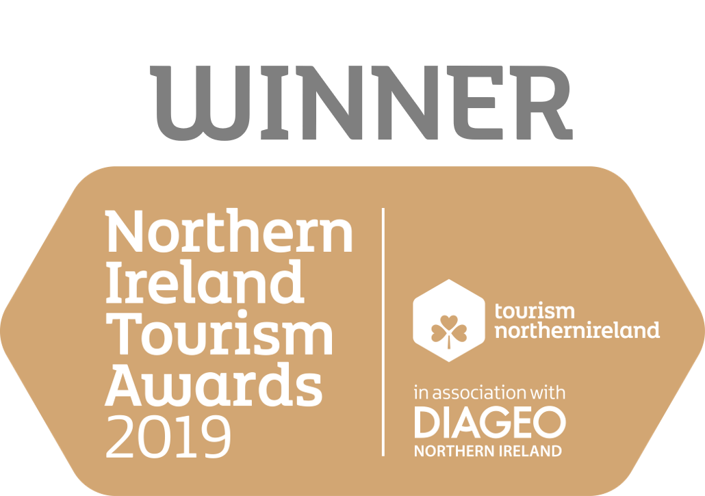 Winner Northern Ireland Tourism Awards